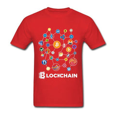 Blockchain Cryptocurrency T Shirt