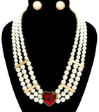 valentines jewelry set