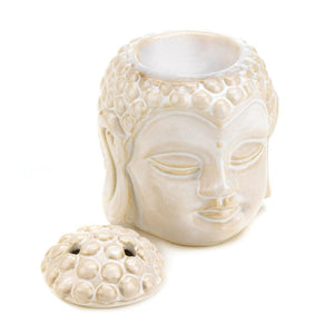 Buddha Head Serenity Oil Warmer - The House of Awareness