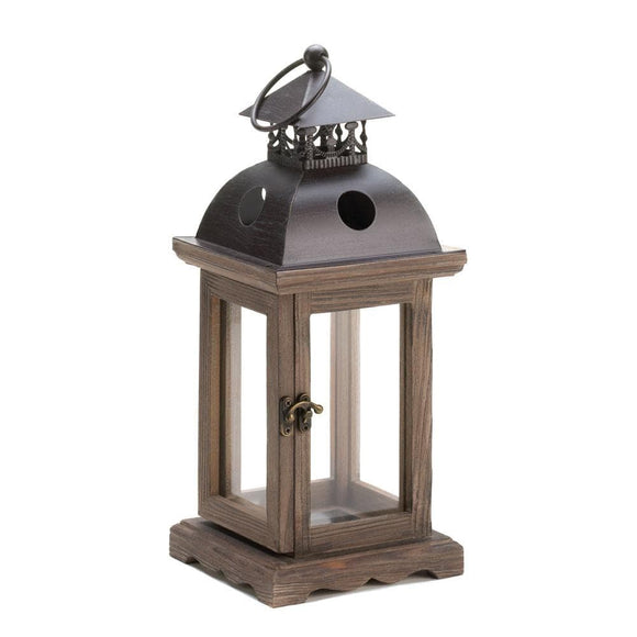 Rustic Wood Lantern , Candle Lanterns - Home Locomotion, The House of Awareness