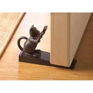 Cat Scratching Door Stopper - The House of Awareness