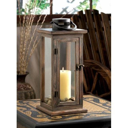 Perfect Lodge Wooden Lantern - The House of Awareness