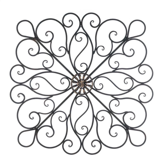 Scrollwork Wall Decor - The House of Awareness