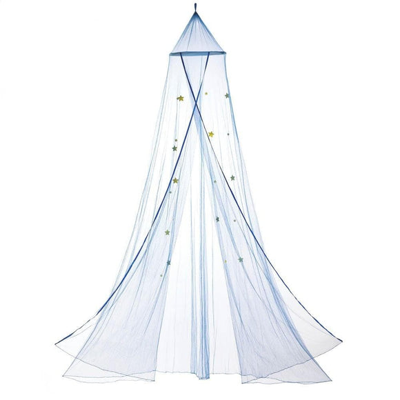 Blue Starry Sky Bed Canopy , Blankets and Bedding - Home Locomotion, The House of Awareness