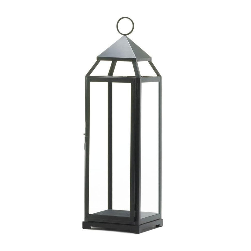 10 Extra Tall Black Wedding Contemporary Lanterns - The House of Awareness