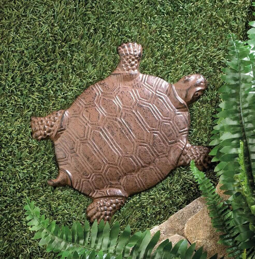 Cast Iron Turtle Garden Stepping Stone - The House of Awareness