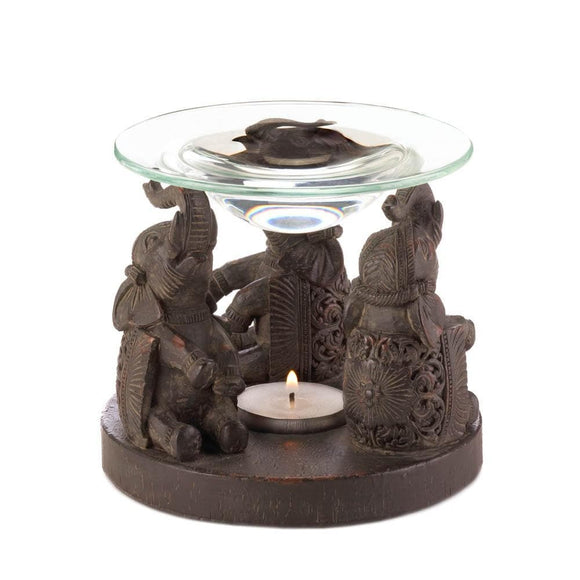 Elephant Oil Warmer , Oil Burners - Home Locomotion, The House of Awareness