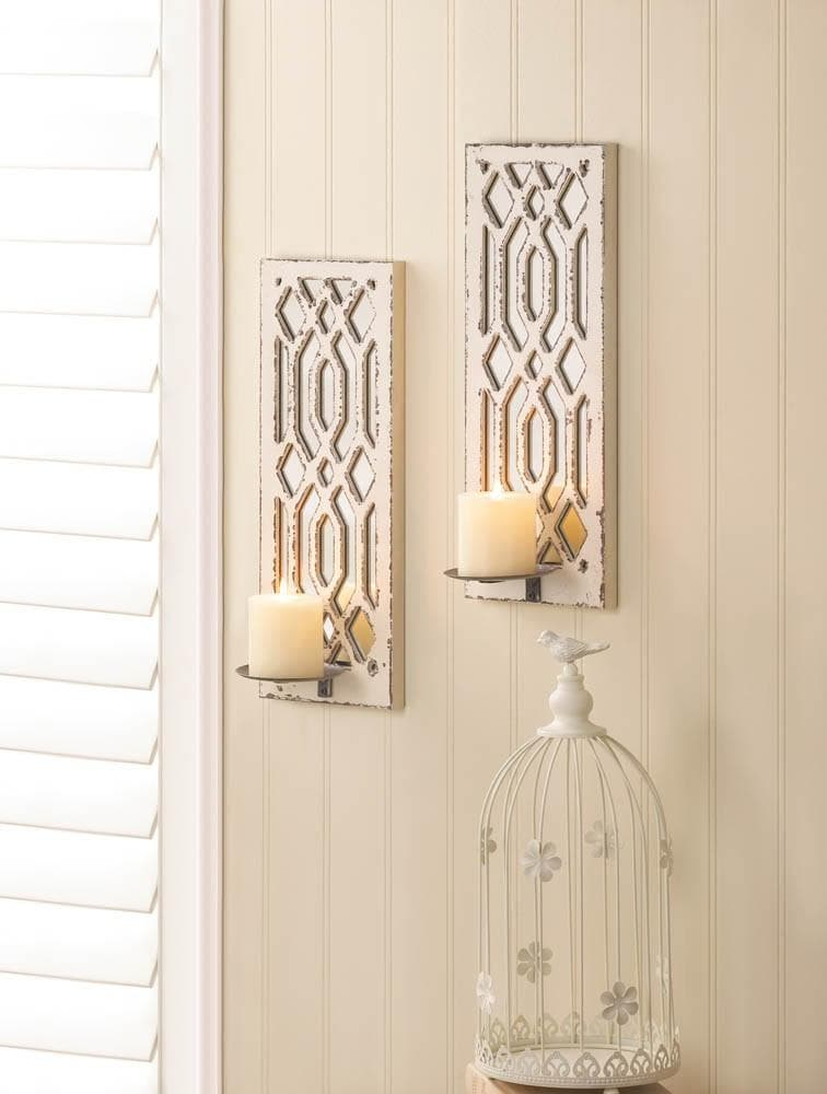 Deco Mirror Wall Sconce Set - The House of Awareness