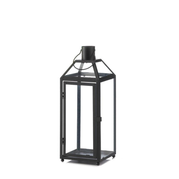 Midtown Medium Black Lantern , Candle Lanterns - Home Locomotion, The House of Awareness  - 1