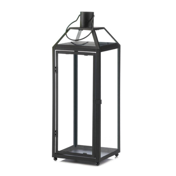 Midtown Large Black Lantern , Candle Lanterns - Home Locomotion, The House of Awareness  - 1