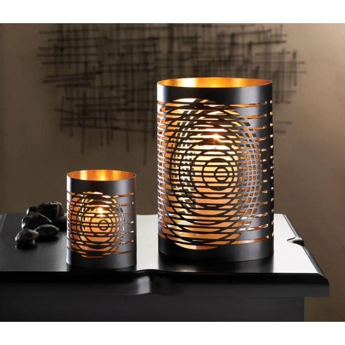 2 Modern Chic Candleholders - The House of Awareness