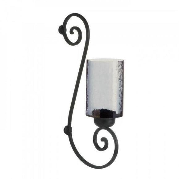 Smoked Glass Wall Sconce , More Candleholders - Gallery Of Light, The House of Awareness
