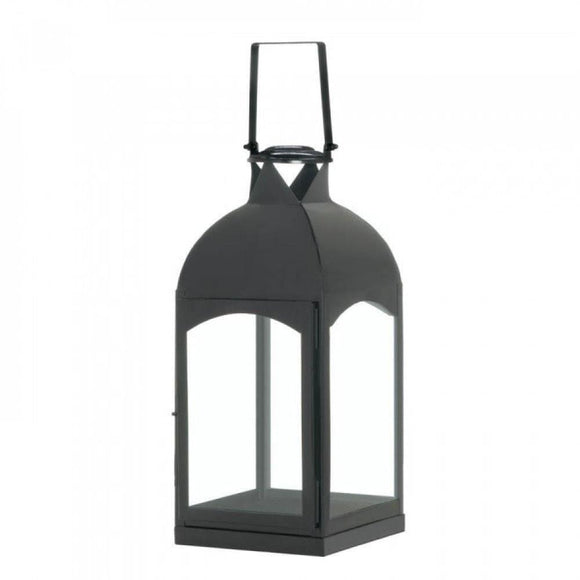 Large Domed Black Candle Lantern - The House of Awareness