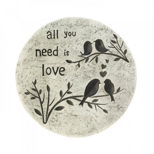 Set of 6 All You Need Is Love Stepping Stones - The House of Awareness