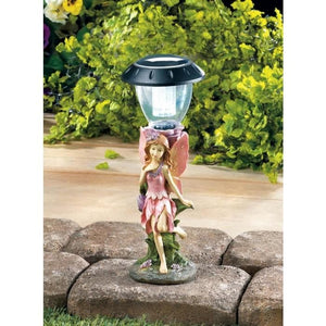 Set of 2 Pink Fairy Solar Lamps - The House of Awareness