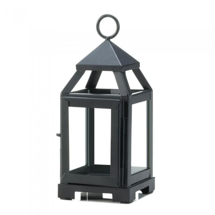 Black Mini Contemporary Lantern - The House of Awareness