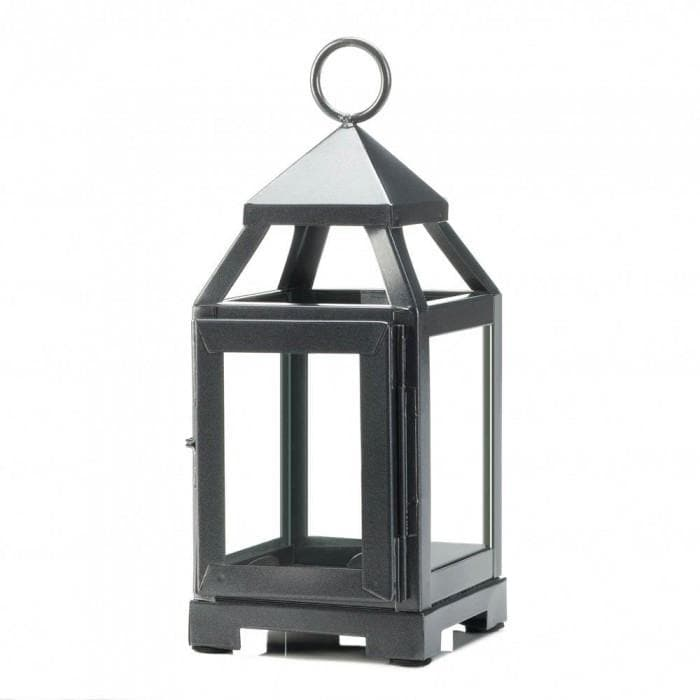 Set of Silver 6 Mini Modernized Lanterns - The House of Awareness