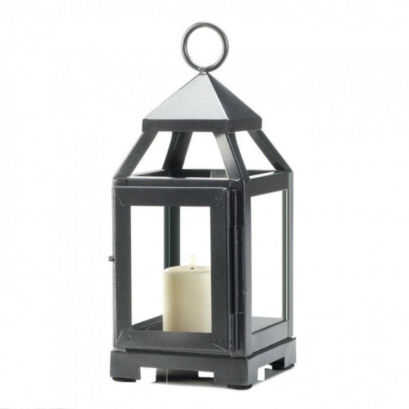 Silver Mini Contemporary Lantern - The House of Awareness