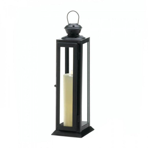 Tall Sleek And Lean Star Cutout Lantern - The House of Awareness