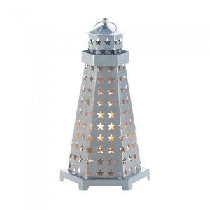 Set of 2 Super Star Candle Lighthouses