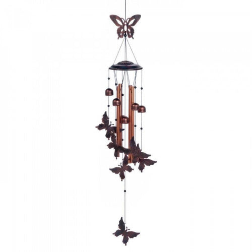 Fluttering Butterflies Wind Chimes - The House of Awareness