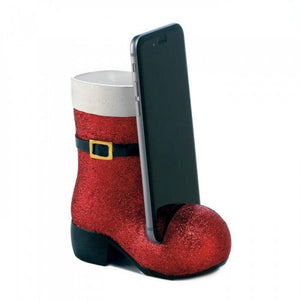 Santa Boot Phone Holder - The House of Awareness