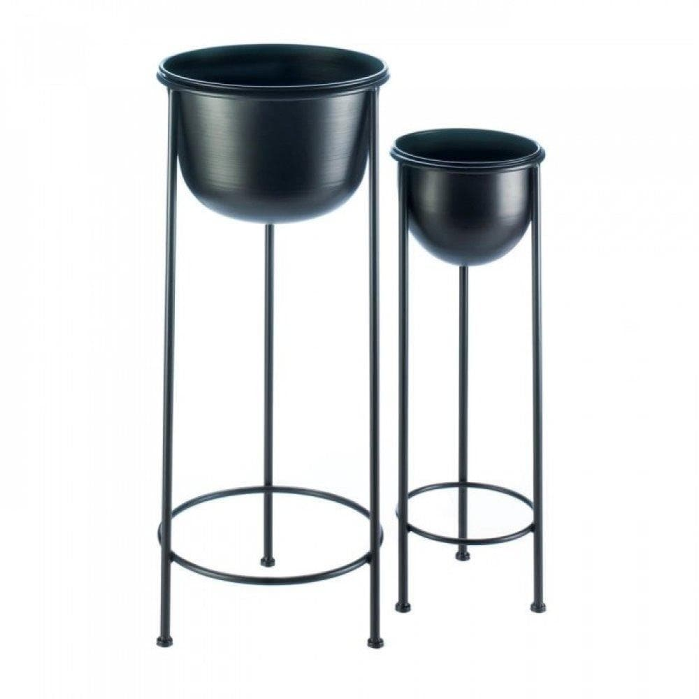 Modern Bucket Plant Stand Set - The House of Awareness