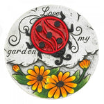 Set of 2 Love My Garden Sunflowers Stones - The House of Awareness