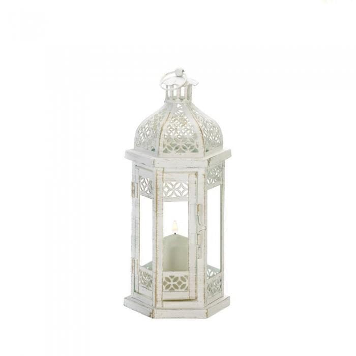 Antique-style Floral Lantern - The House of Awareness