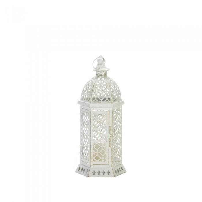 Small and Large Cutwork Hexagon Lanterns - The House of Awareness