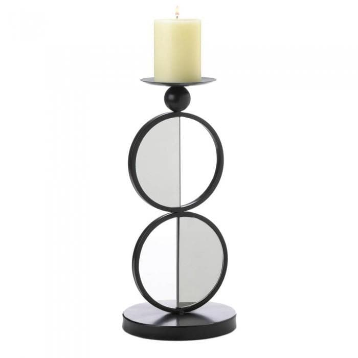 Duo Mirrored Candleholder - The House of Awareness