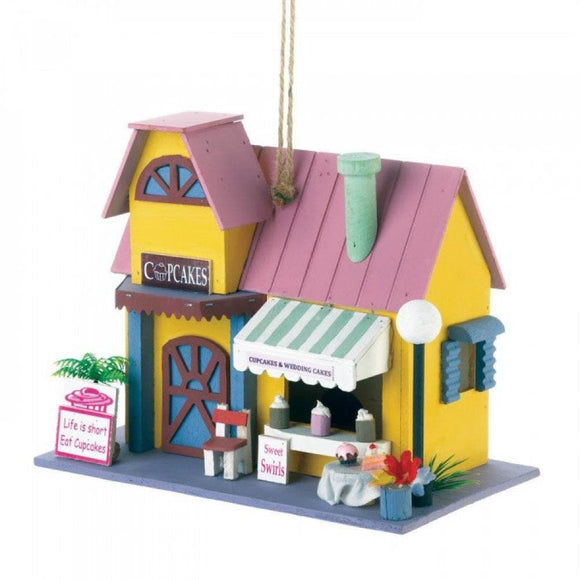 One Adorable Bake Shop And One Ice Cream Parlor Birdhouse