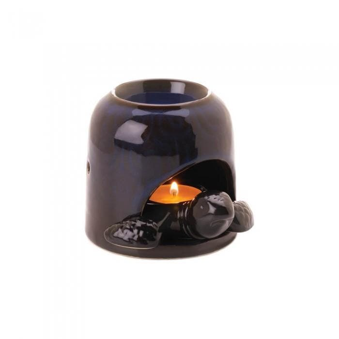 Set of 2 Blue Turtle Oil Warmers - The House of Awareness