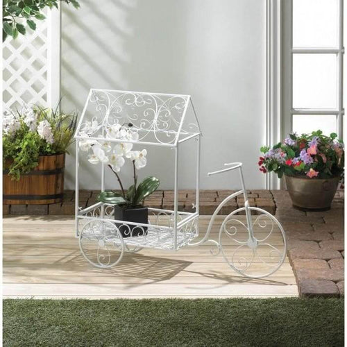Decorative Bicycle Wagon Garden Plant Holder - The House of Awareness