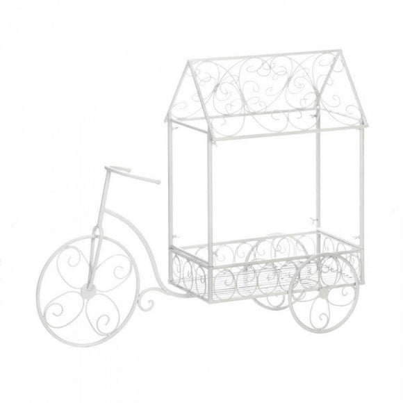 Decorative Bicycle Wagon Garden Plant Holder