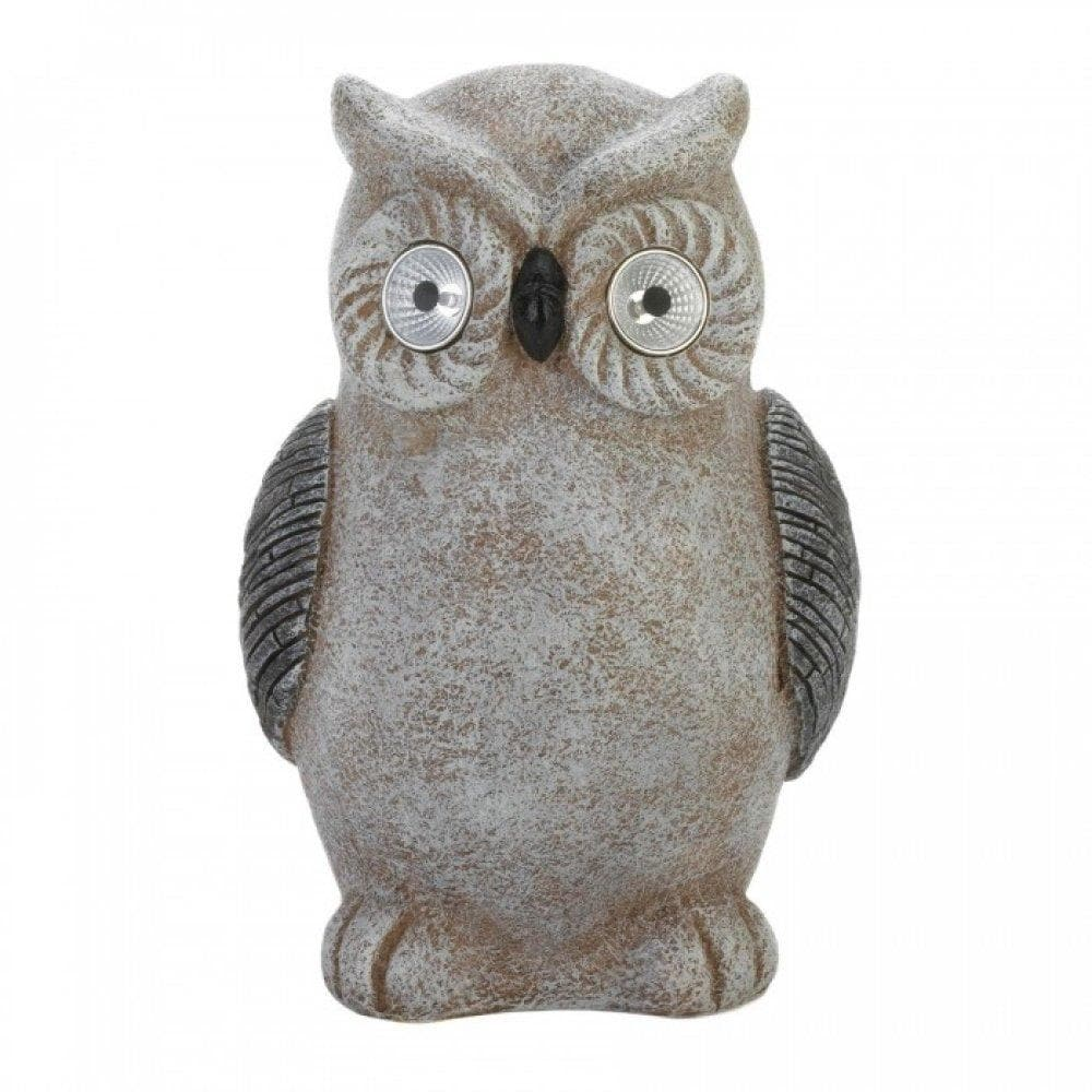 Solar Owl Statue - The House of Awareness