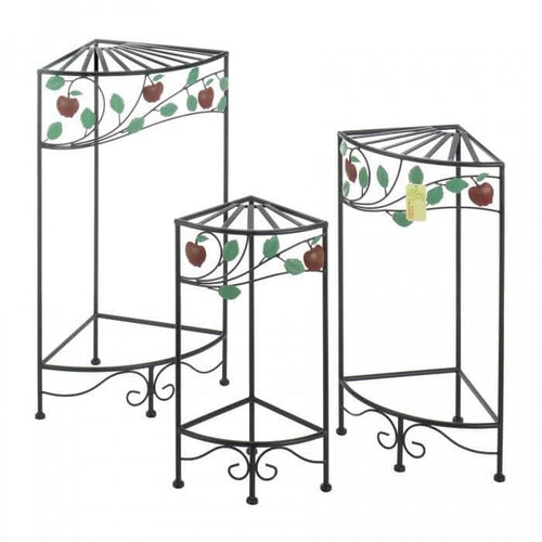Country Apple Plant Stand Set - The House of Awareness
