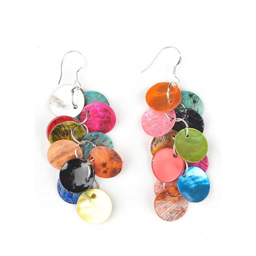 Designer Button Earrings - The House of Awareness