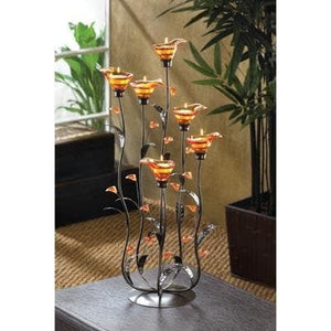 Amber Calla Lilly Candleholder - The House of Awareness