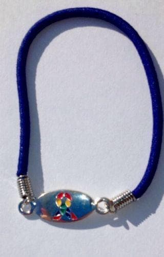 Autism ASD and Asperger Awareness Stretch Bracelet - The House of Awareness