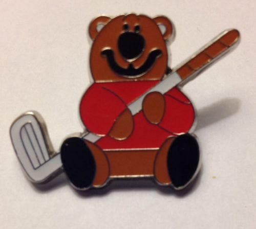 Brown Bear With a Golf Club - The House of Awareness