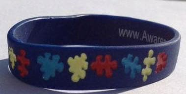 Autism and Asperger Awareness Bracelets Children or Youth Size (ages 5-11) - The House of Awareness