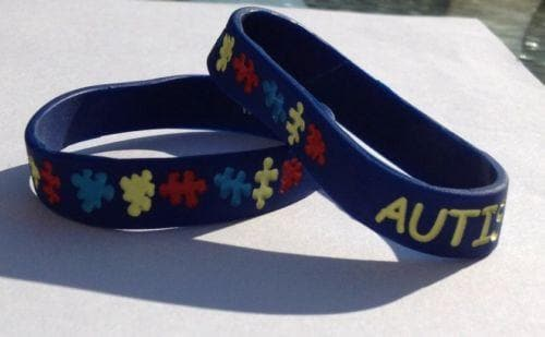 Two Autism Awareness Youth Bracelets (5-11) - The House of Awareness