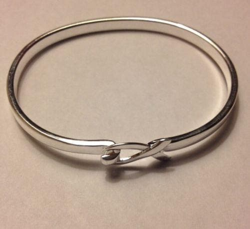 Elegant Silver Ribbon Bracelet for Awareness of all Causes with a Gift Box - The House of Awareness