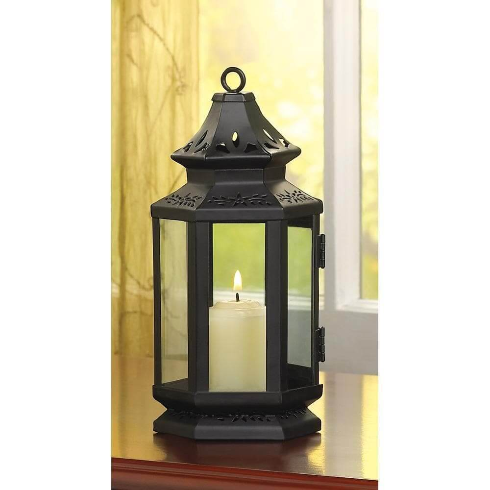 Black Stagecoach Lantern - The House of Awareness
