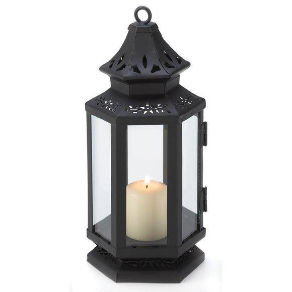 Black Stagecoach Lantern , Candle Lanterns - Gallery Of Light, The House of Awareness  - 1