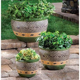 Jade Planters Trio - The House of Awareness
