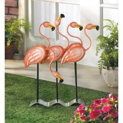 Flamingo Garden Decor - The House of Awareness