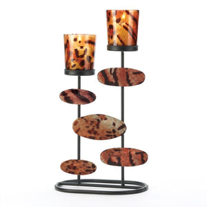 Tiger-riffic Candleholder , Tealight Candleholders - Home Locomotion, The House of Awareness  - 1