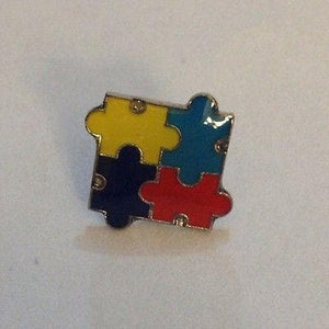 Autism Awareness Puzzle Tack Pin - The House of Awareness